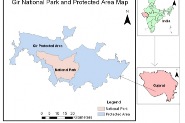 Constitution of the above study sites contained Teak forest mixed with dry deciduous species